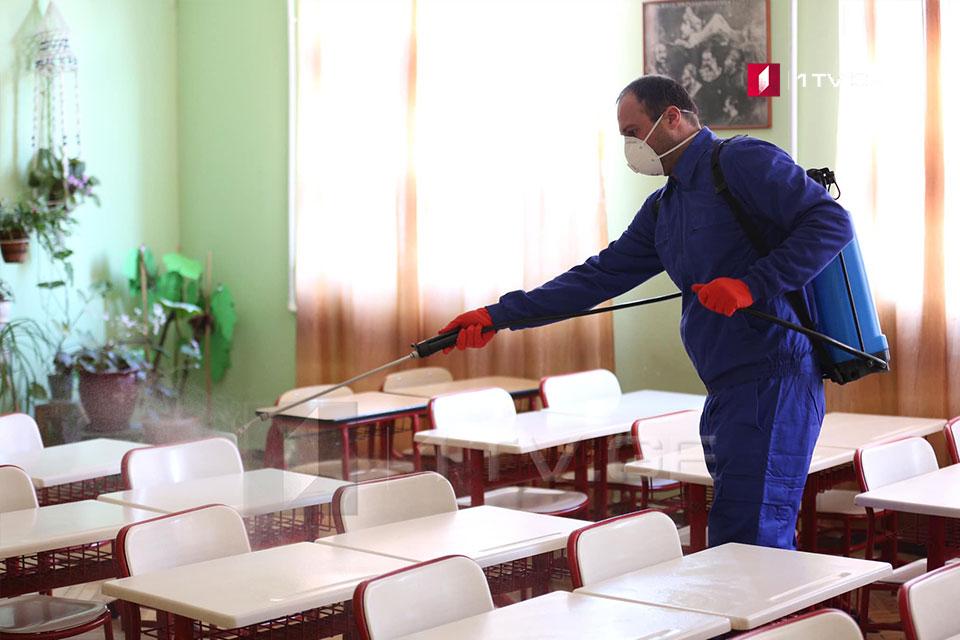 სკოლების გახსნის პარალელურად, სავალდებულო ხდება მასწავლებელთა ორ კვირაში ერთხელ ტესტირება