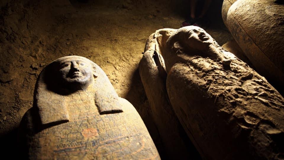 ეგვიპტეში 2500 წლის წინანდელი სრულიად დალუქული 13 კუბო აღმოაჩინეს — 1tvმეცნიერება