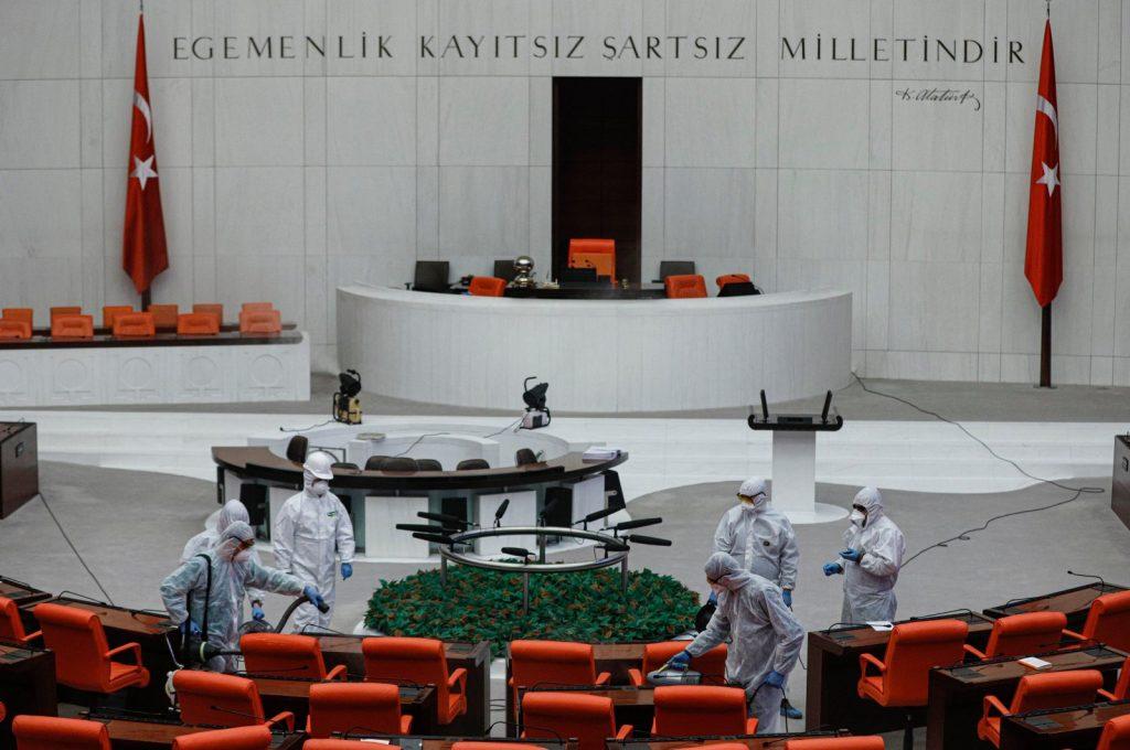 Թուրքիայի խորհրդարանում արձանագրվել է կորոնավիրուսով վարակման 44 դեպք
