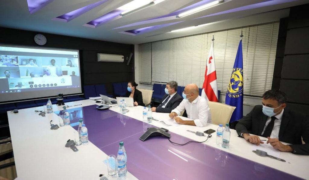 ივანე მაჭავარიანი საერთაშორისო სავალუტო ფონდის მისიის წარმომადგენლებს შეხვდა