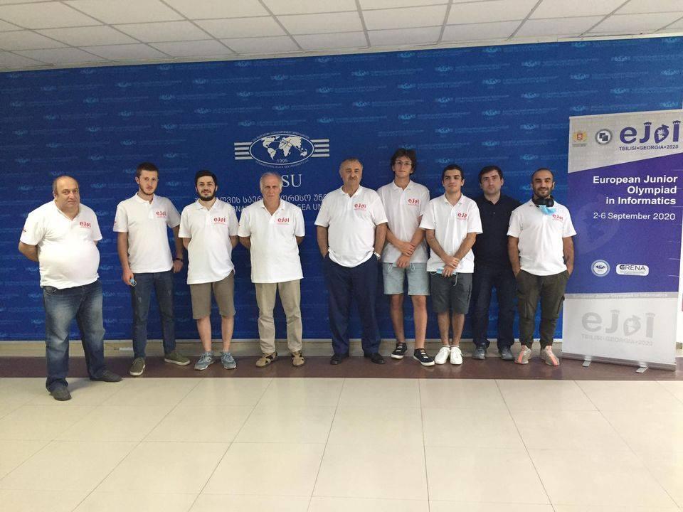 ქართველმა მოსწავლეებმა ევროპის ინფორმატიკის ოლიმპიადაზე წარმატებით იასპარეზეს