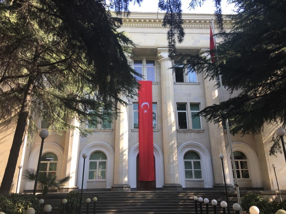 საქართველოში თურქეთის საელჩო თბილისი-სტამბოლის რეისების შესახებ ინფორმაციას ავრცელებს