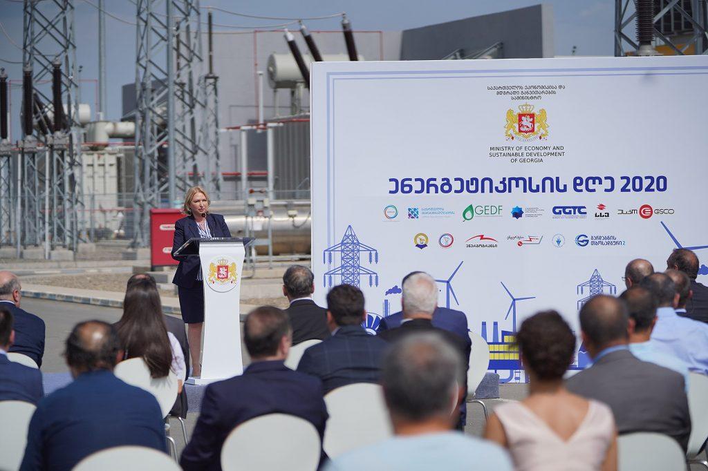ნათია თურნავა - ჩვენ მოვახდინეთ გარღვევა ქვეყნის ენერგეტიკულ უსაფრთხოებასა და ენერგოდამოუკიდებლობის გაძლიერების საქმეში