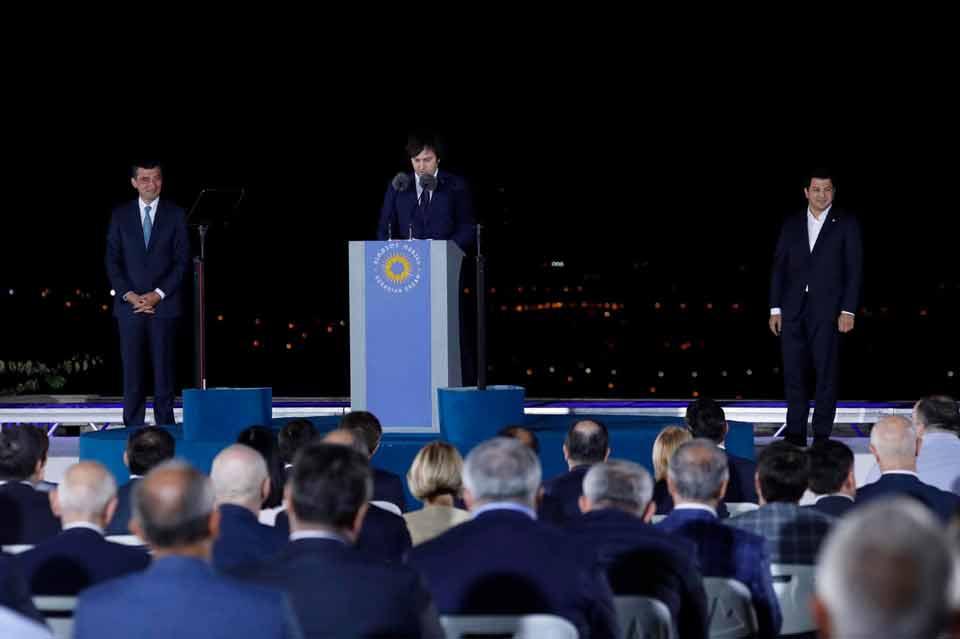 «Վրացական երազանքը» վարչապետ է անվանել Գիորգի Գախարիային, իսկ խորհրդարանի նախագահ Արչիլ Թալակվաձեին