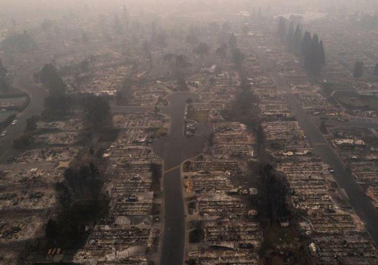 აშშ-ის აღმოსავლეთ ნაწილში ტყის ხანძრის შედეგად გარდაცვლილთა რიცხვი 24-მდე გაიზარდა