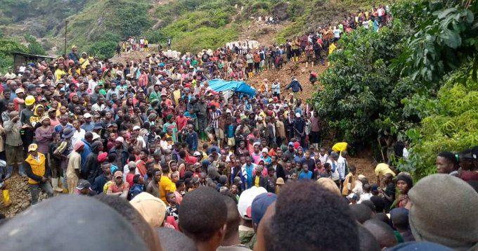 კონგოში ოქროს მომპოვებელი მაღარო ჩამოინგრა