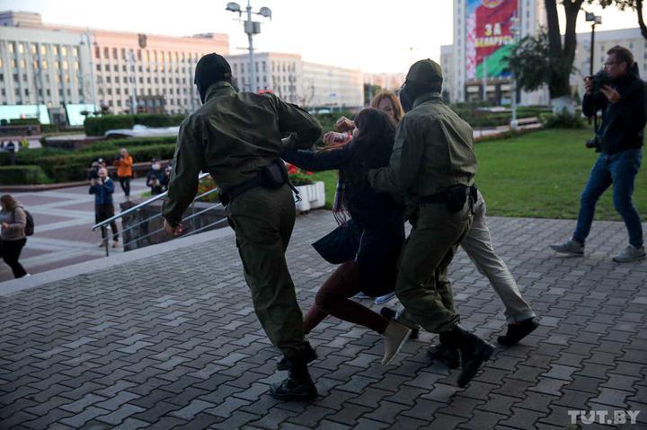 ბელარუსში, 11 სექტემბერს, ანტისამთავრობო დემონსტრაციებზე 32 ადამიანი დააკავეს
