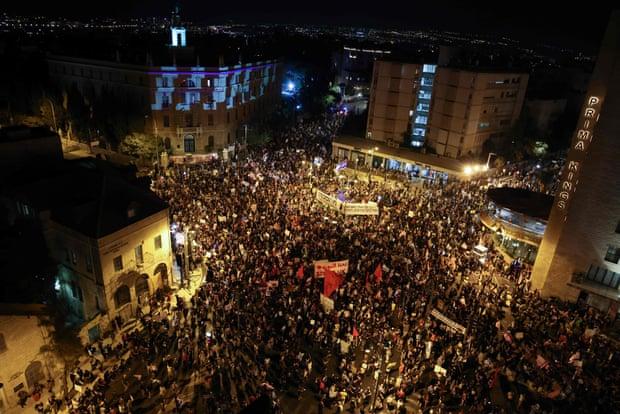 Իսրաելում տեղի է ունեցել հակակառավարական ցույց