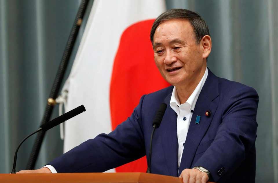 იაპონიის პრემიერ-მინისტრის თანამდებობას მინისტრთა კაბინეტის მდივანი იოშიჰიდე სუგა დაიკავებს