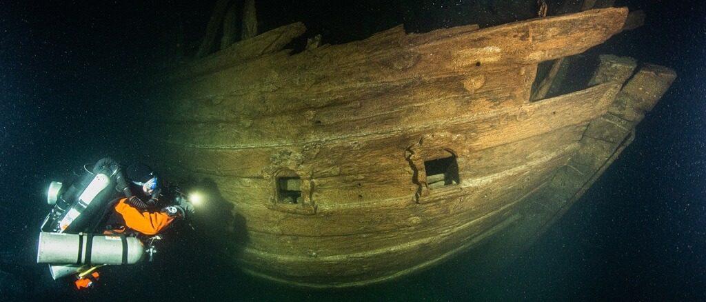 ბალტიის ზღვაში მე-17 საუკუნეში ჩაძირული სავაჭრო გემი აღმოაჩინეს — 1tvმეცნიერება
