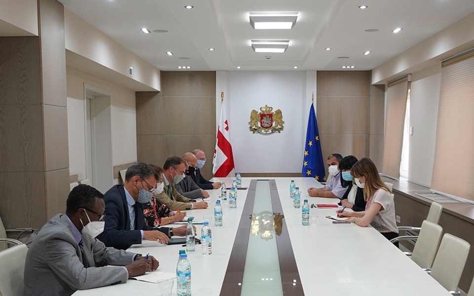 Tea Akhvlediani met Co-Chairs of Geneva Discussions