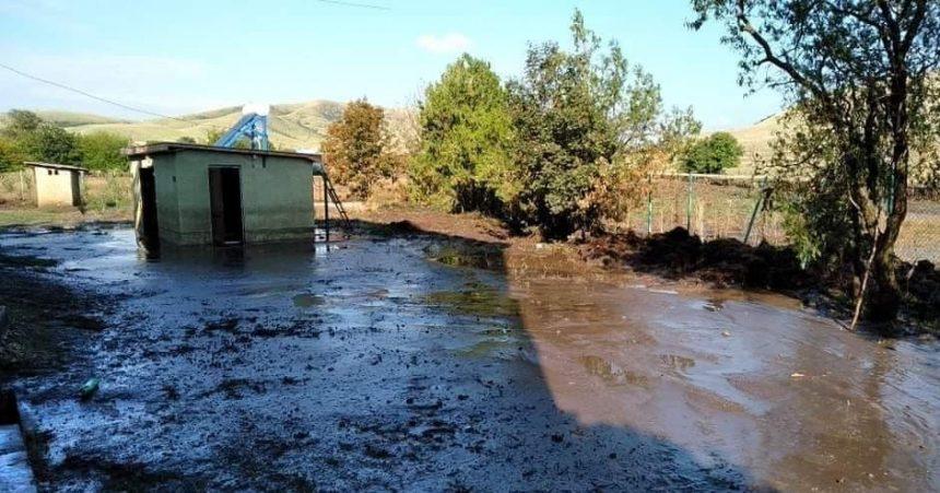 ძლიერი წვიმის შედეგად, ახმეტის მუნიციპალიტეტის სოფელ კასრისწყალის საჯარო სკოლა დაიტბორა