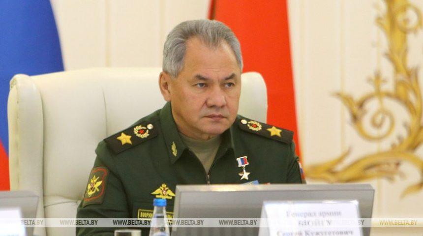 რუსეთის თავდაცვის მინისტრის ხელმძღვანელობით ბელარუსში რუსეთის სამხედრო დელეგაცია ჩავიდა