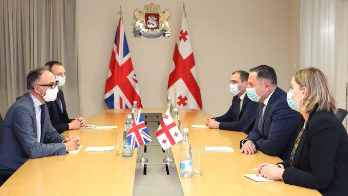 დიდი ბრიტანეთის ელჩი - კიბერუსაფრთხოების კუთხით საქართველო-ბრიტანეთს შორის თანამშრობლობა მნიშვნელოვანი და წარმატებულია