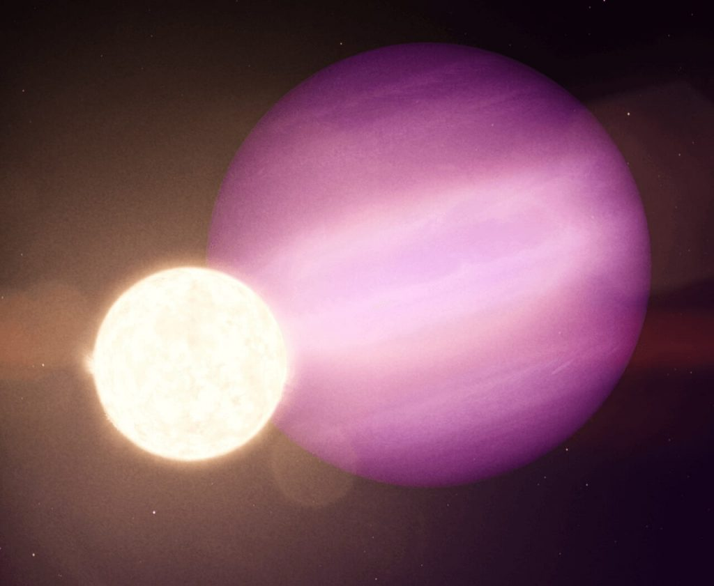 ციცქნა მკვდარი ვარსკვლავის გარშემო უზარმაზარი გაზის გიგანტი პლანეტა აღმოაჩინეს — #1tvმეცნიერება