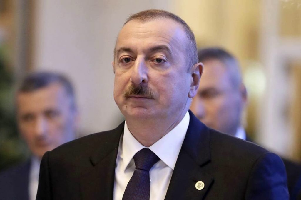 President of Azerbaijan says that Armenia is preparing for a new war