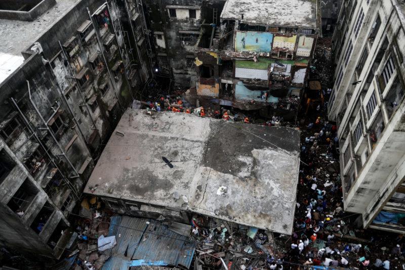 ინდოეთში, ერთ-ერთი საცხოვრებელი სახლის ჩამონგრევის შედეგად რვა ადამიანი დაიღუპა
