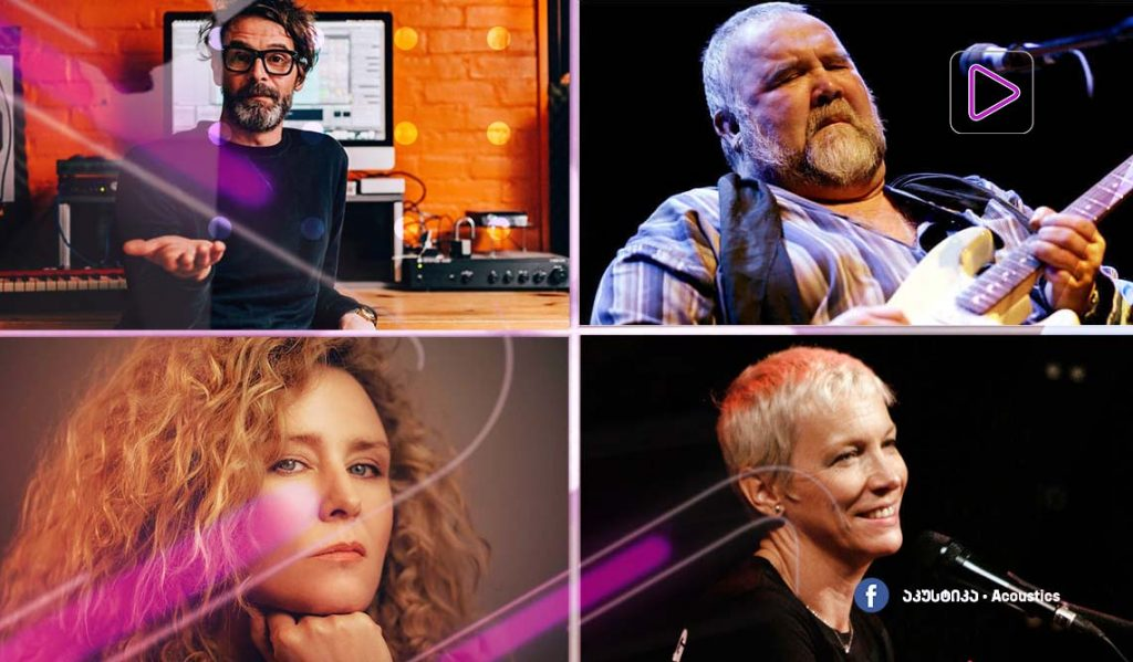 რადიო აკუსტიკა - როიშინ მერფის ახალი ალბომი / სიმღერები ენი ლენოქსის შესრულები