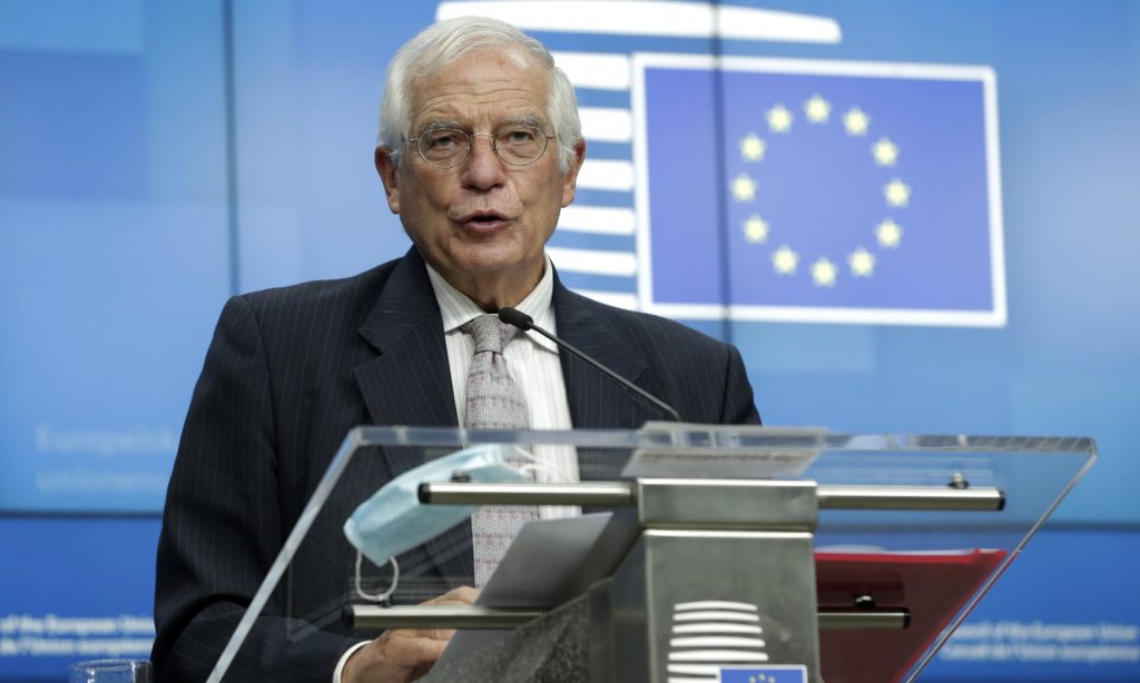 Жозеп Борел абон  хайад райсдзæн европарламенты  плангонд дебатты