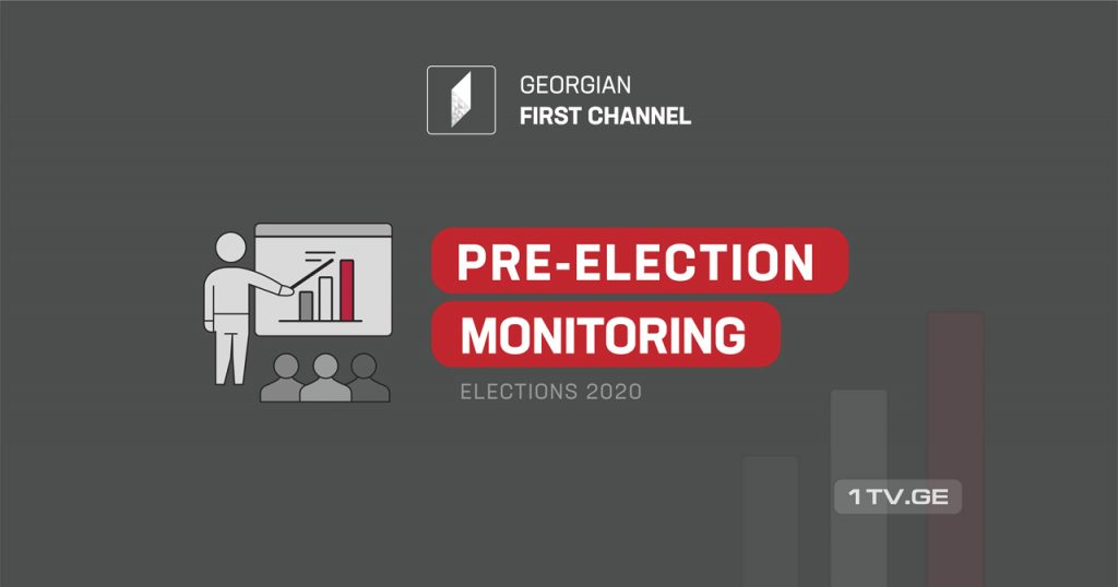 Pre-election monitoring report of prime-time news program 'Moambe'