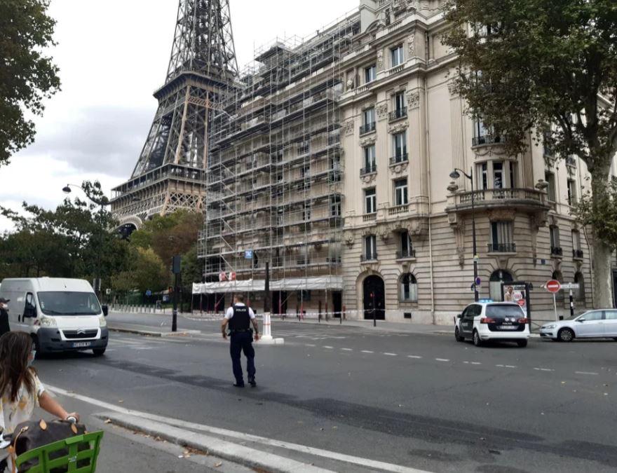 პარიზში ეიფელის კოშკიდან მოქალაქეების ევაკუაცია განხორციელდა