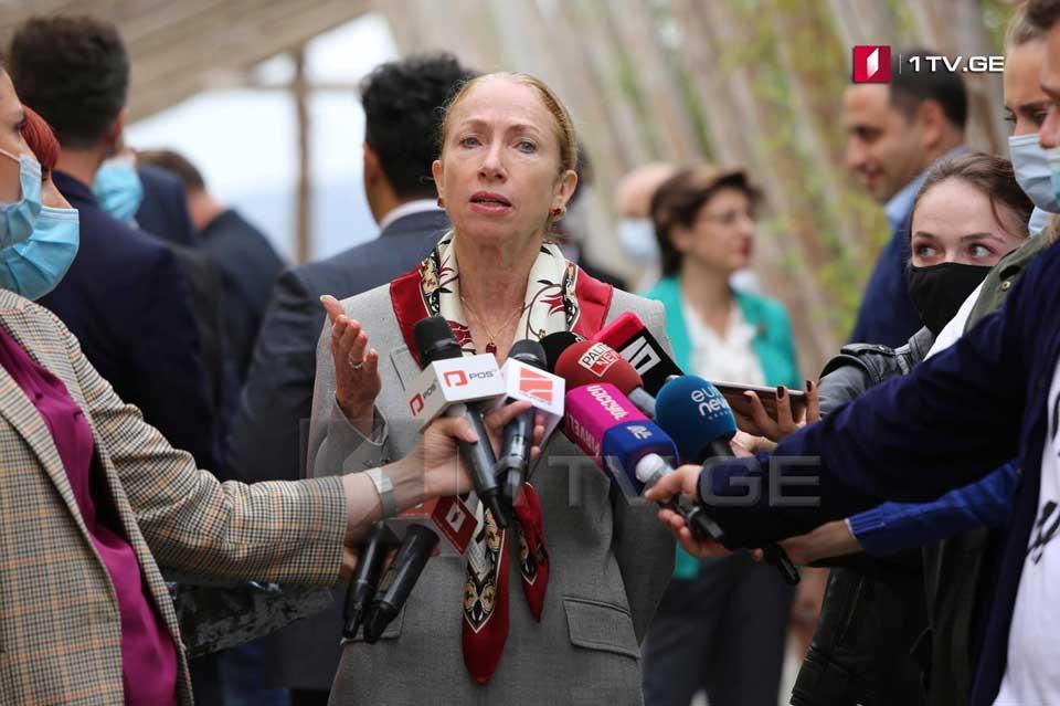 Келли Дегнан - Я бы хотела бы, чтобы закончилась политика индивидов, которая разделяет грузинское общество, открывает в стране путь для противостояния и сумятицы