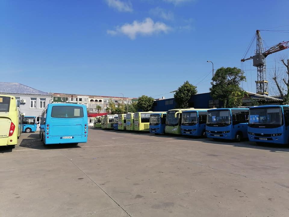 ბათუმში საზოგადოებრივი ტრანსპორტის მოძრაობა დილიდან შეწყდა
