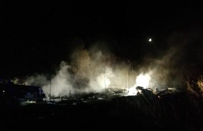 უკრაინაში სამხედრო თვითმფრინავის ჩამოვარდნის შედეგად 22 ადამიანი დაიღუპა