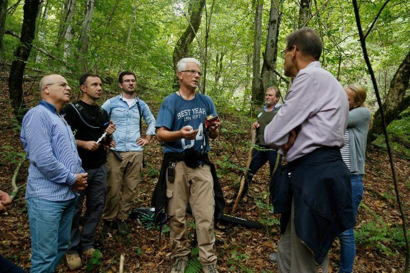 სოფელ მაღრაანში ტყის ეროვნული აღრიცხვის საველე სამუშაოებს გარემოს დაცვის მინისტრის მოადგილე გერმანიის ელჩთან ერთად გაეცნო