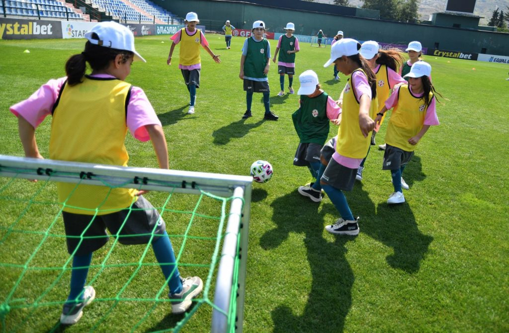 პირველი პუნქტი გორია - მასობრივი ფეხბურთის კვირეული დაიწყო