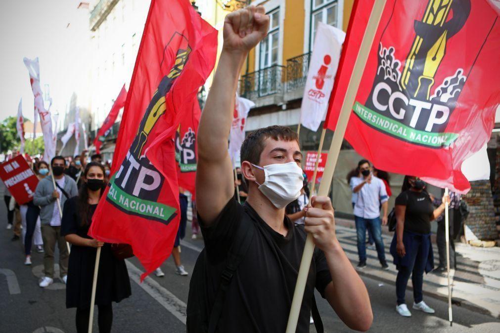 პორტუგალიაში შრომის მინიმალური ანაზღაურების გაზრდის მოთხოვნით აქციები გაიმართა