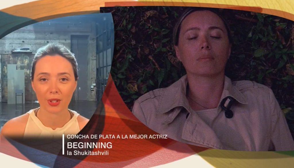 """ქართულ-ფრანგული ფილმი """"დასაწყისი"""" სან სებასტიანის საერთაშორისო კინოფესტივალზე მთავარი ჯილდოს მფლობელი გახდა"""