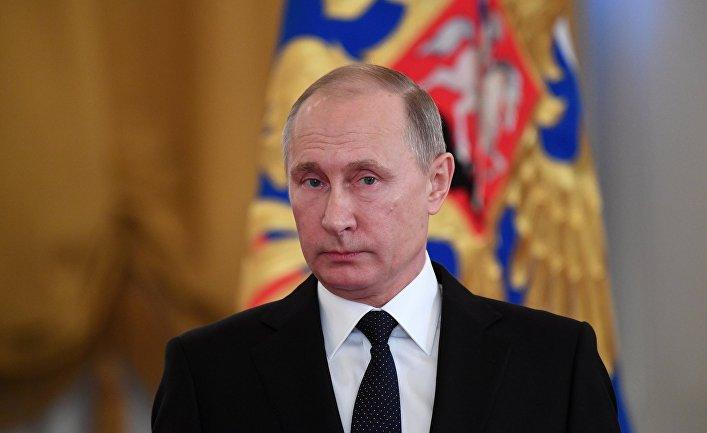 ვლადიმერ პუტინი - რუსეთი არასდროს ერევა მეზობელი ქვეყნების შიდა საქმეებში და ყოველთვის მხარს უჭერს მოქმედ ხელისუფლებას სიტუაციის დასტაბილურების ძალისხმევაში