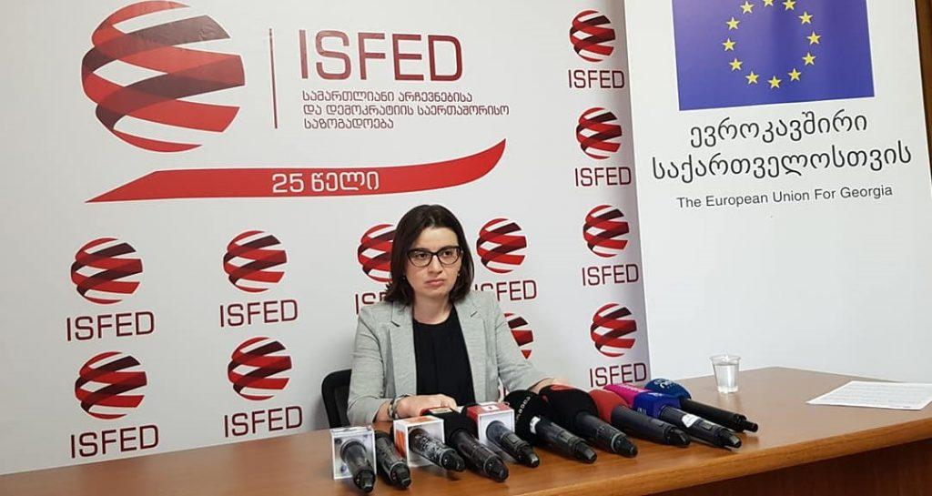 ISFED-ის აღმასრულებელი დირექტორი - მიხეილ სააკაშვილი უცხო ქვეყნის მოქალაქეა და მას საარჩევნო კამპანიაში მონაწილეობა ეკრძალება