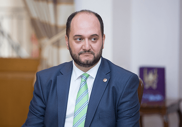 Armenian Minister of Education and Culture states that Mikheil Saakashvili should be deprived of the title of Honorary Doctor of Yerevan State University
