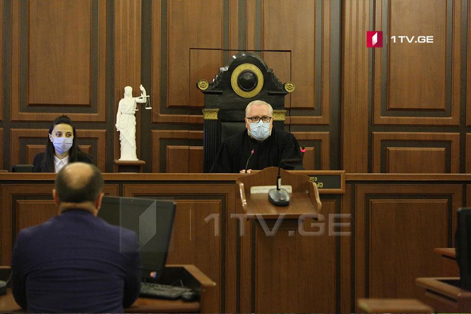 ბუტა რობაქიძის საქმეზე ზურაბ ადეიშვილისა და ირაკლი ოქრუაშვილის სასამართლო სხდომა კიდევ ერთხელ გადაიდო