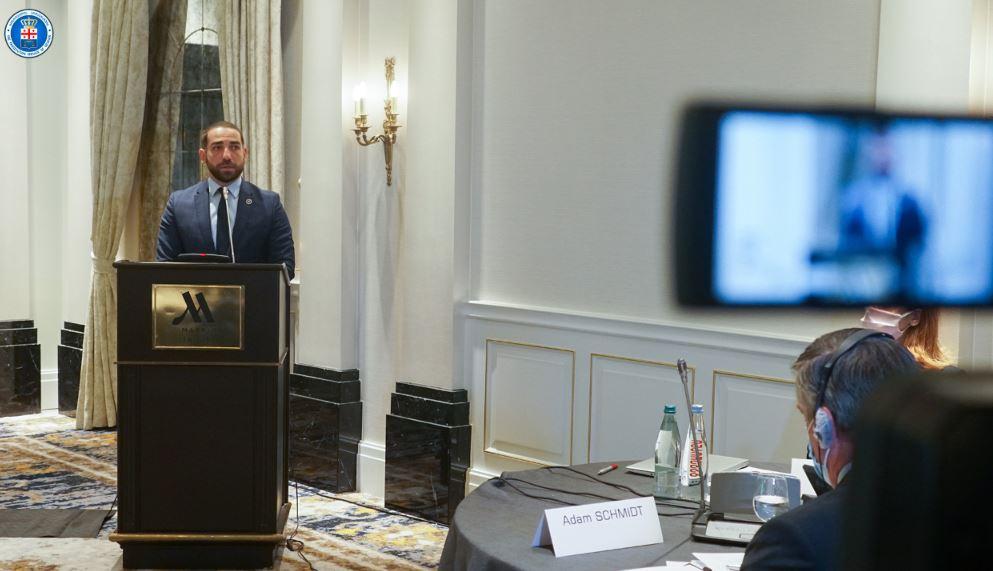 ირაკლი შოთაძე მართლმსაჯულების საკოორდინაციო საბჭოს პირველ შეხვედრას დაესწრო
