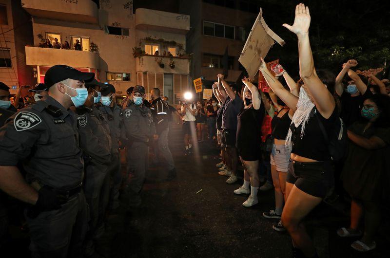 ისრაელში პრემიერ-მინისტრ ბენიამინ ნეთანიაჰუს წინააღმდეგ საპროტესტო აქცია გაიმართა