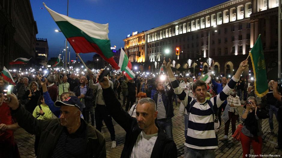 ბულგარეთში მთავრობის გადადგომისა და ვადამდელი არჩევნების მოთხოვნით მორიგი აქცია გაიმართა
