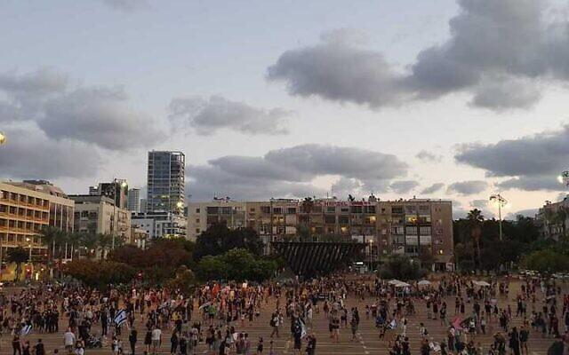 ისრაელში ბენიამინ ნეთანიაჰუს წინააღმდეგ გამართულ საპროტესტო აქციებზე პოლიციამ 38 დემონსტრანტი დააკავა