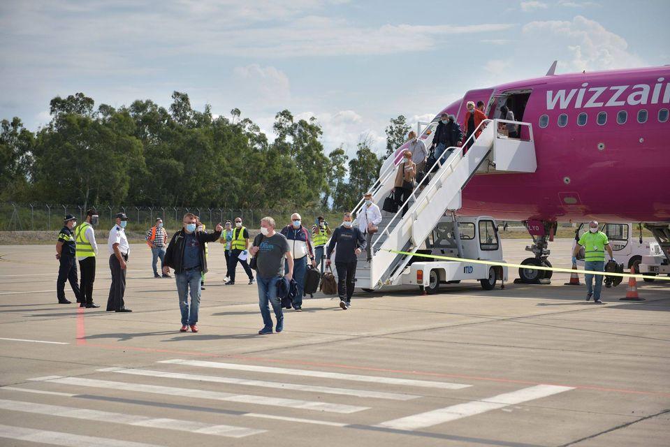 Քութաիսիի օդանավակայանում վերսկսվել են դեպի Ռիգա կանոնավոր չվերթները
