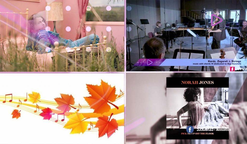 რადიო აკუსტიკა - ახალი ალბომები და მუსიკალური კლიპები