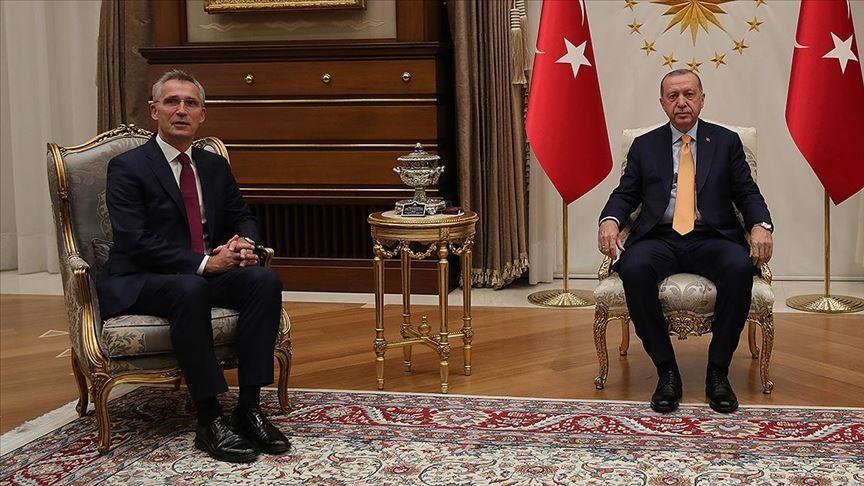 NATO Secretary General visiting Ankara
