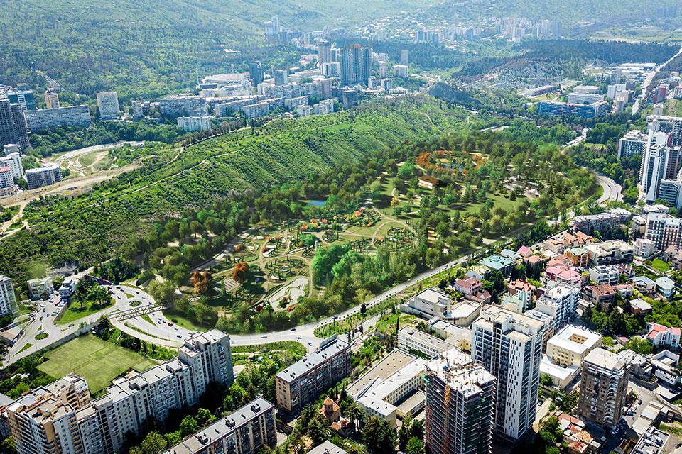 Tbilisi Mərkəzi Parkı necə olacaq (foto)