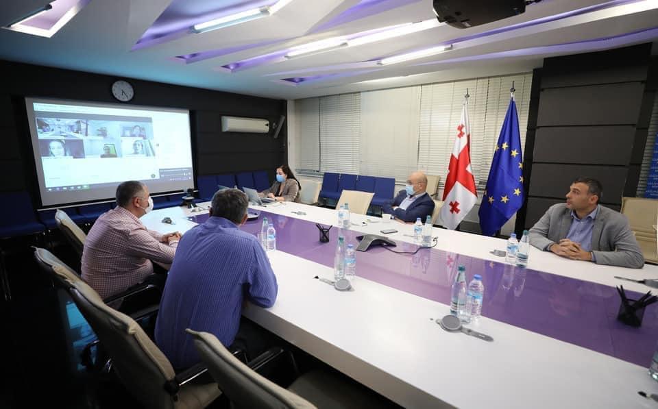 ფინანსთა მინისტრი ივანე მაჭავარიანი საერთაშორისო სავალუტო ფონდის შემფასებელ მისიას შეხვდა