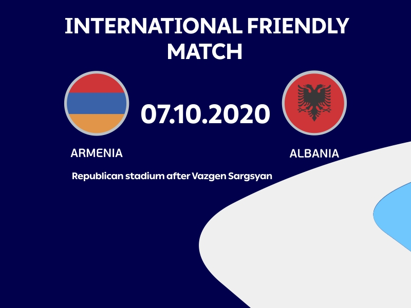 Venue of Georgia vs. Armenia football match is unknown