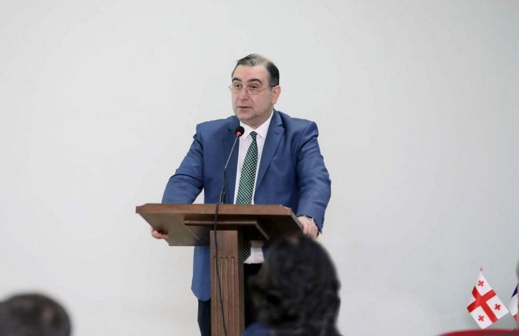 მიხეილ ჩხენკელმა ქართულ-ფრანგული ორდიპლომიანი საბაკალავრო პროგრამის პრეზენტაციაში მიიღო მონაწილეობა