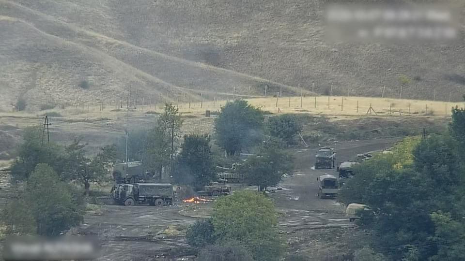 Ermənistan İrana müraciət etdi ki, Azərbaycan ordusu hissələrini Araz çayını keçməyə icazə verməsin