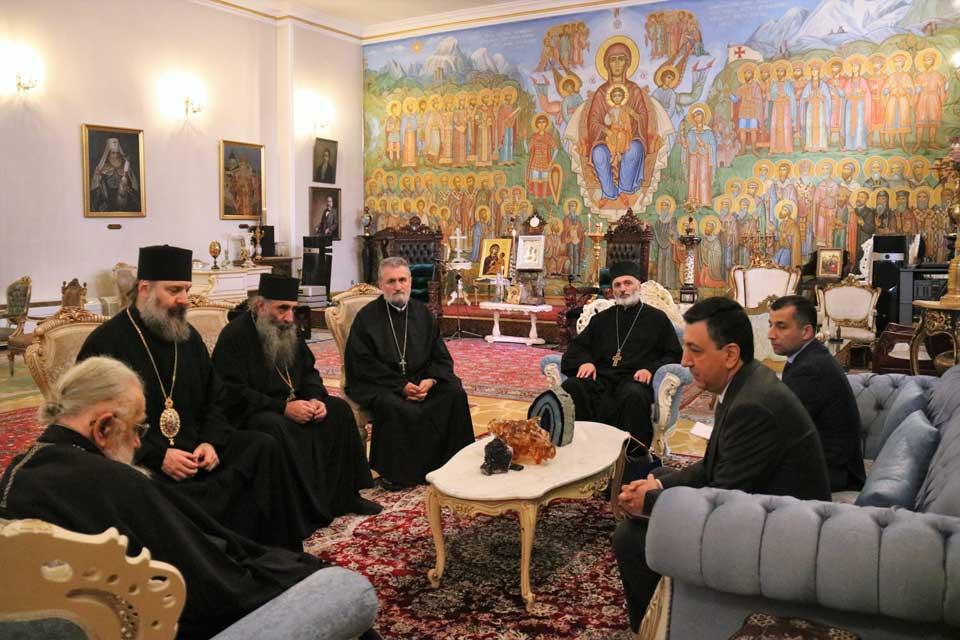 Catholicos-Patriarch of All Georgia meets with Ambassador of Azerbaijan