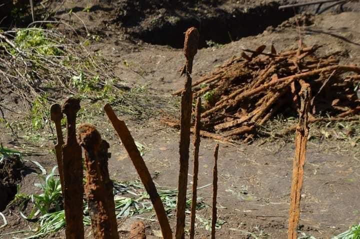 ზესტაფონში ძველი ქართული საბრძოლო იარაღები აღმოაჩინეს